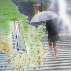 RHMZ IZDAO HITNO UPOZORENJE: Ovaj deo Srbije uskoro će pogoditi JAKI PLJUSKOVI SA GRADOM, a do sutra i celu zemlju