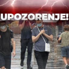 RHMZ IZDAO DVA UPOZORENJA: Kiše i pljuskovi pogodiće ovaj deo Srbije, na jugu i istoku i dalje PAKLENE VRUĆINE