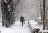 RHMZ: Od 1.do 3. februara naglo topljenje snega i košava