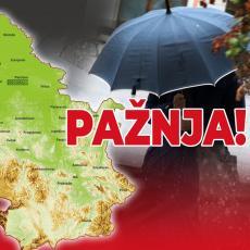 RHMZ UPRAVO IZDAO UPOZORENJE: Stiže snažan pljusak sa grmljavinom, prvi na udaru sever zemlje, pa Beograd