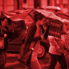 RHMZ izdao UPOZORENJE za Srbiju! Orkanski udari vetra, kiša... POGLEDAJTE ŠTA NAS ČEKA