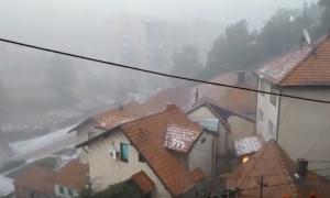 RHMZ najavljuje i danas nepogode, obilne padavine i grad!