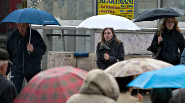 RHMZ upozorava na obilne padavine na jugu i u centralnoj Srbiji