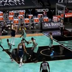 RINGIŠPIL, PA KOSILICA: Genijalni potezi Jokića hit u Americi, MVP asistencije u Šarlotu se prepričavaju (VIDEO)