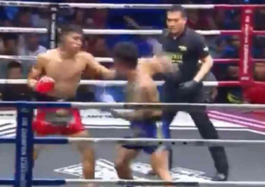 RIVAL - NOKAUTIRAN! SUDIJA? TAKOĐE! Tajlanđanin se malo zaneo! Jednim potezom prebio dvojicu! (VIDEO)