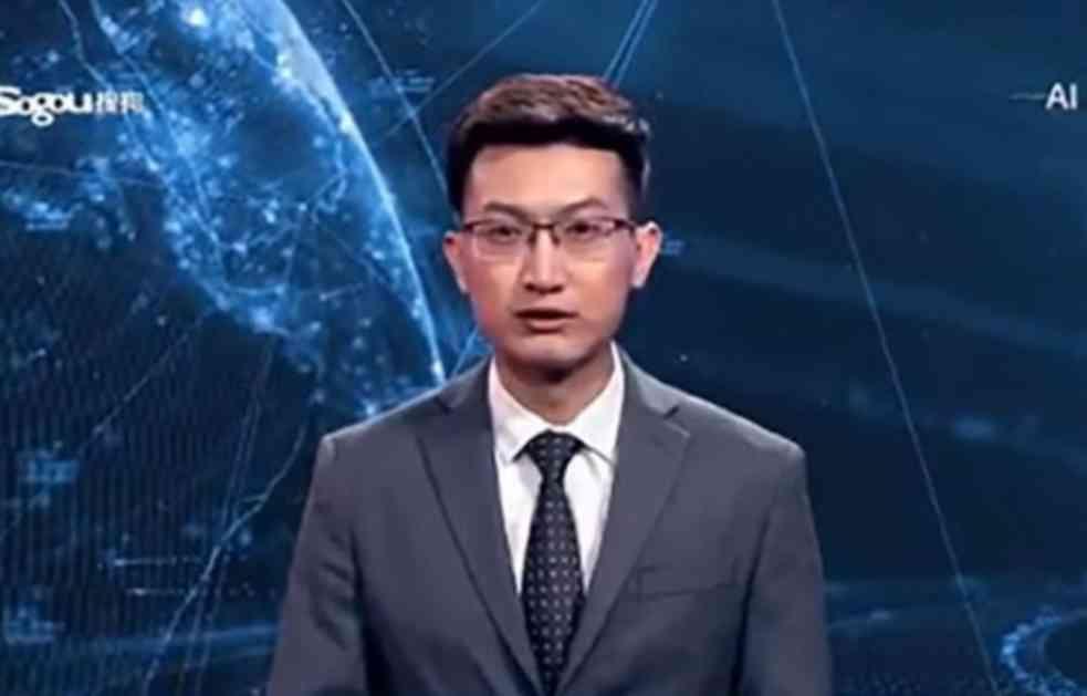 ROBOTI OSVAJAJU  TELEVIZIJSKE DNEVNIKE: Kinezi imaju VIRTUELNOG VODITELJA vesti! Jeftiniji je, a može da radi 24 sata! (VIDEO)