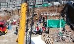ROĐENI BRAT SVEDOK TRAGEDIJE: Pao zid na gradilištu u Kneza Miloša, poginuo radnik, izvučeno telo posle četiri sata (FOTO+VIDEO)