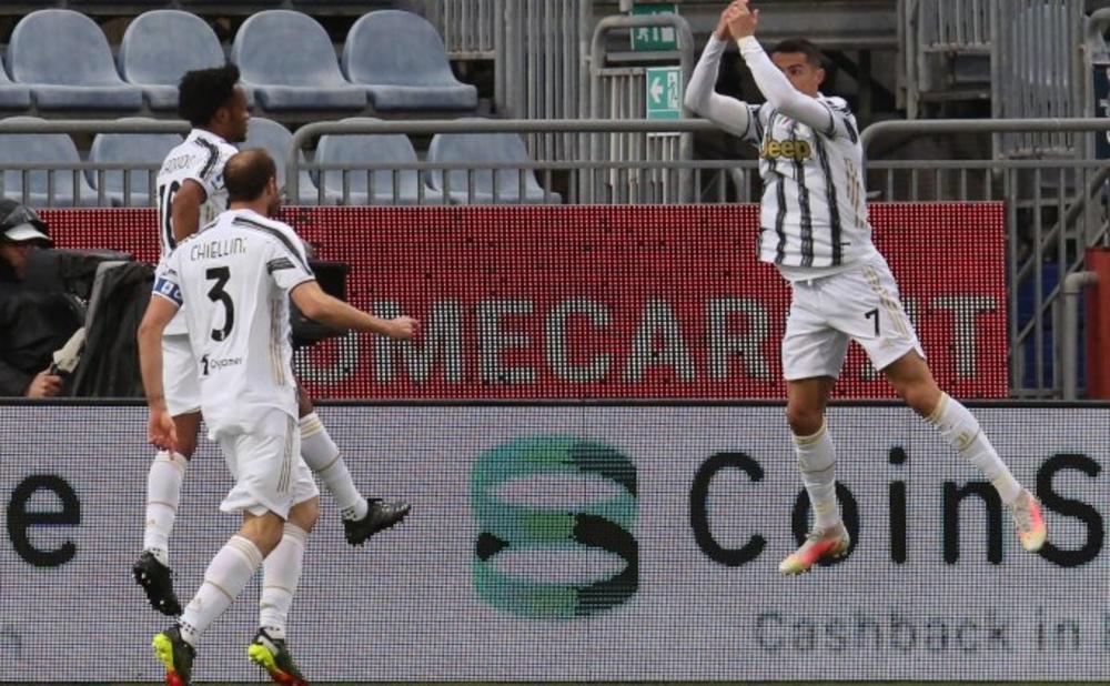 RONALDO DONEO PREOKRET ZA 6 MINUTA: Juventus slavio u Udinama VIDEO