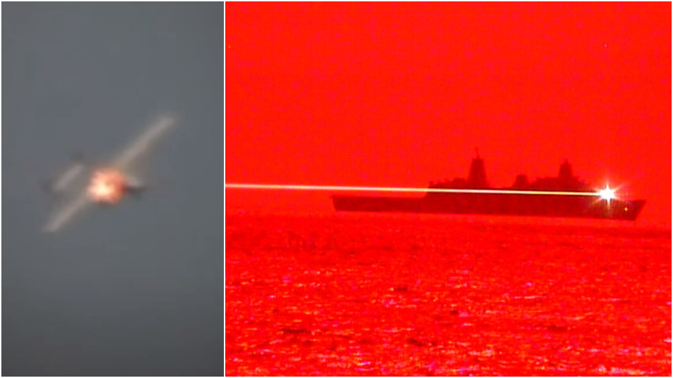 RT: Američka mornarica predstavila lasersko oružje demonstracijom obaranja drona na moru