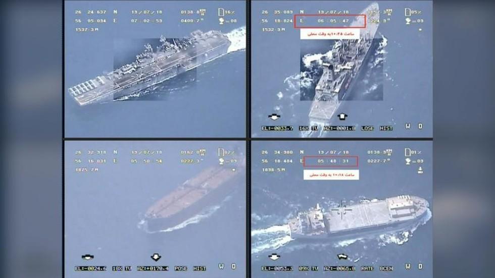 RT: Iran zaplenio britanski tanker u Ormuskom moreuzu - Revolucionarna garada Irana