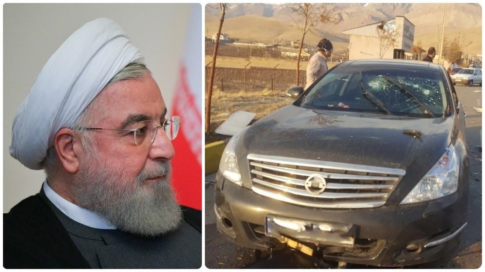 RT: Iranski predsednik uperio prstom u Izrael nakon ubistva vojnog nuklearnog naučnika u blizini Teherana
