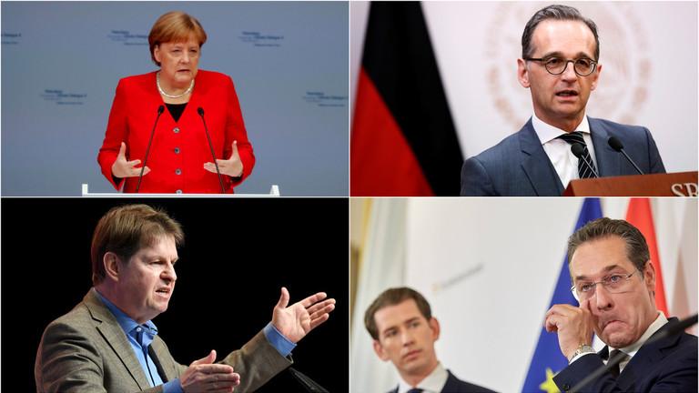 """RT: """"Neprijatelji slobode?"""" Nemačka pokreće krstaški rat protiv desnice usred krize austrijske vlade"""