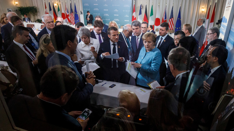 RT: Rusija treba da se vrati u G7 jer mi potrošimo 25% vremena pričajući o njoj - Tramp