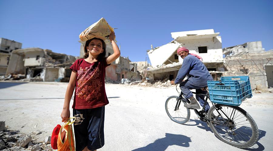 RT: Sirijske izbeglice se mogu vratiti u Alepo, i to u stotinama hiljada