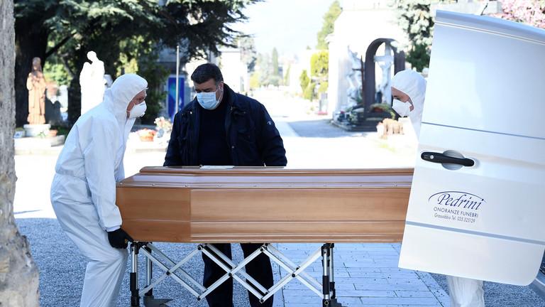 RT: U bolnicama nema mesta, mnogi umiru kod kuće - gradonačelnik Bergama