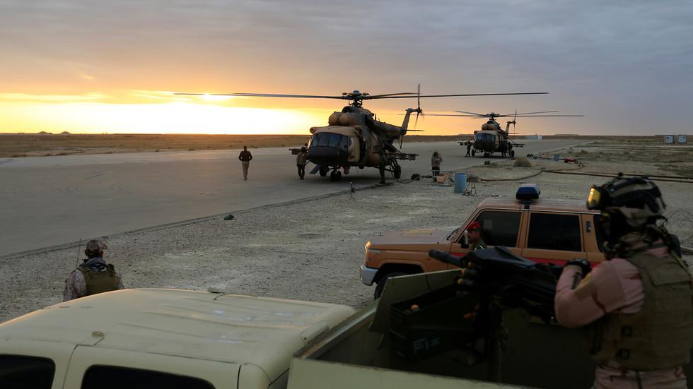 RT: Vazduhoplovna baza američke koalicije u Iraku pogođena sa najmanje 10 raketa