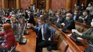 RTS: RIK dodelio mandate poslanicima Narodne skupštine