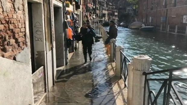 RTS u Veneciji, dan posle najveće poplave u poslednjih pedeset godina