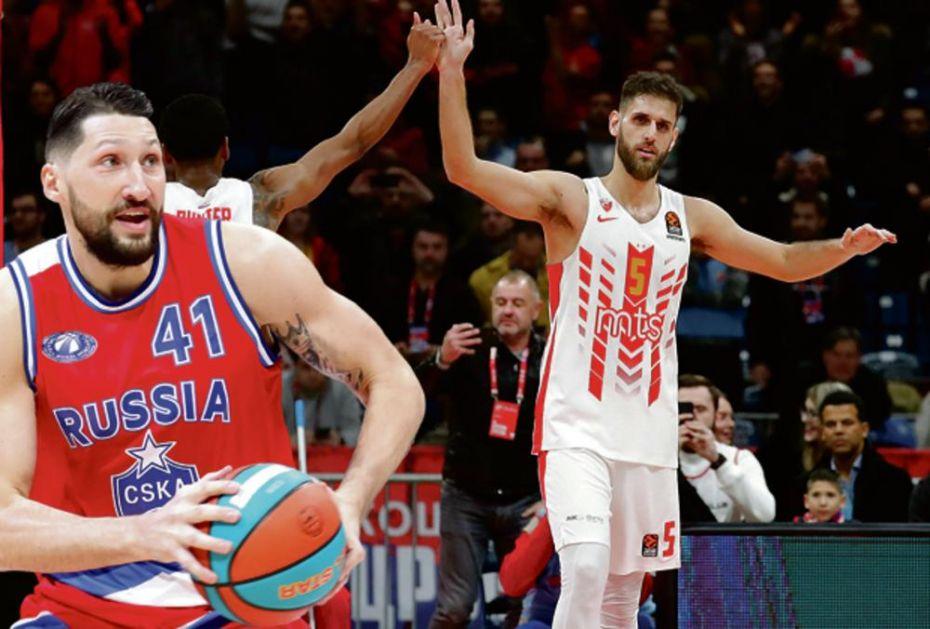 RUSI NA SRPSKOM FRONTU: Posle poraza u Kupu Zvezda dočekuje CSKA