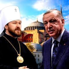 RUSI ODGOVORILI NA ERDOGANOV PLAN ZA AJA SOFIJU! Da li će uništiti lik ISUSA HRISTA, neverovatan BEZOBRAZLUK