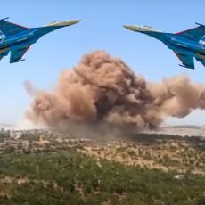 RUSI UNAKAZILI MILITANTE: Eksplozije blještale u Idlibu, poslali im poruku da s njima nema šale (FOTO/VIDEO)