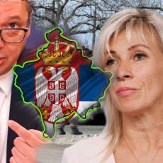 RUSIJA POSLALA PORUKU SRBIJI: Zaharova odgovorila Vučiću - evo šta će uticati na povlačenje KFOR-a sa Kosova