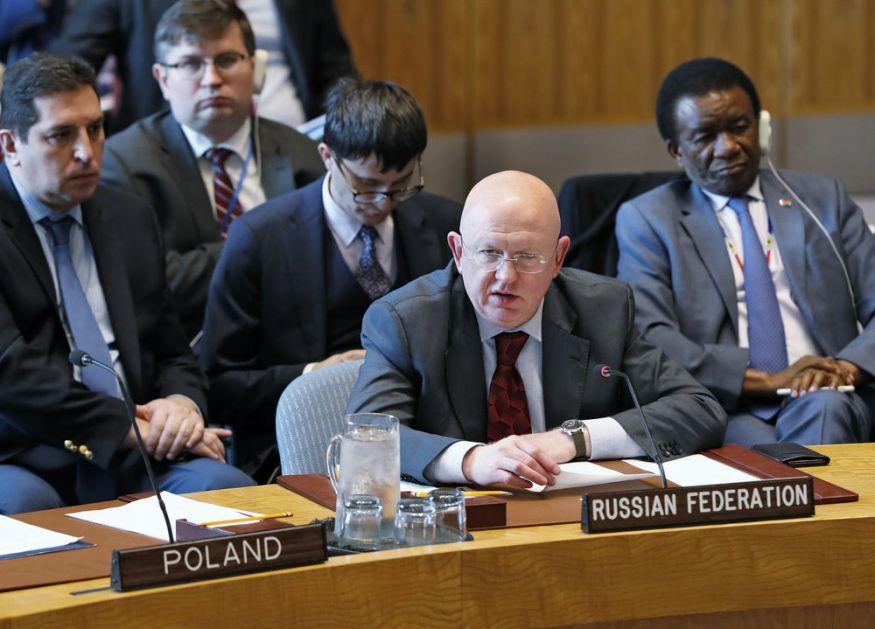 RUSIJA PROZVALA AMERIKU U UN: Agresivna, optužujuća retorika i stvaranje veštačkog antiiranskog raspoloženja opasno za napeti Bliski istok!
