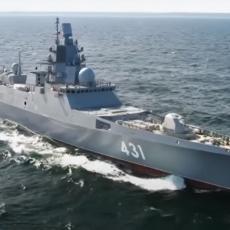 RUSKA FREGATA UPLOVILA U NORVEŠKO MORE: Na korak od poslednje stanice, sve je spremno za borbene zadatke