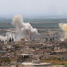 RUSKI ČEKIĆ SA NEBA ŽESTOKO ZABOLEO DŽIHADISTE: Sirijska vojska i Rusi napravili dar-mar u Idlibu (VIDEO)