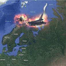 RUSKI MIG HITNO POLETEO: Drama iznad Barencovog mora - presretnuti NATO avioni SAD i Norveške