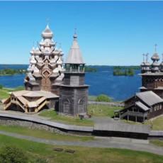 RUSKI RAJ NA ZEMLJI SA OSTRVA KIŽI: Ovo je možda najlepša crkva od drveta na svetu, ponovo je otvorena za vernike (VIDEO)