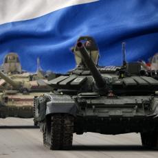 RUSKI TENKOVI OBOJENI RATNIM PRUGAMA Krenuli ka granici sa Ukrajinom, braniće državu od neprijatelja (VIDEO)