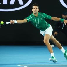 RUTINSKI: Novak kao munja, za sat vremena otišao u drugo kolo (VIDEO)