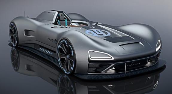 Racer Fourteen: Nesvakidašnji koncept jednoseda superautomobila