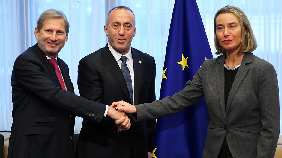 Radio Slobodna Evropa: Haradinaj naljutio Mogerini u Briselu