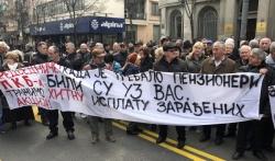 Radnici PKB blokirali saobraćaj u Beogradu i traže nadoknadu za akcije u Predsedništvu Srbije