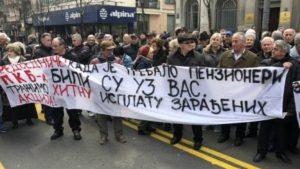 Radnici PKB blokirali saobraćaj u Beogradu, traže nadoknadu za akcije u Predsedništvu Srbije