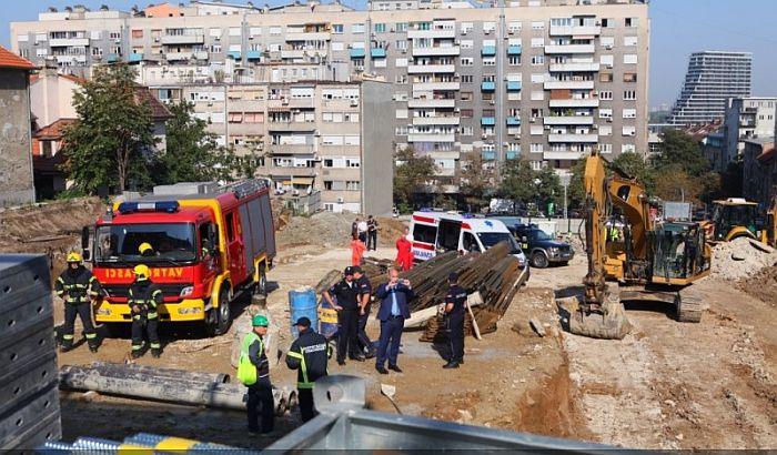 Radnik poginuo u rušenju zida na mestu bivše ambasade SAD, naložena vanredna kontrola gradilišta