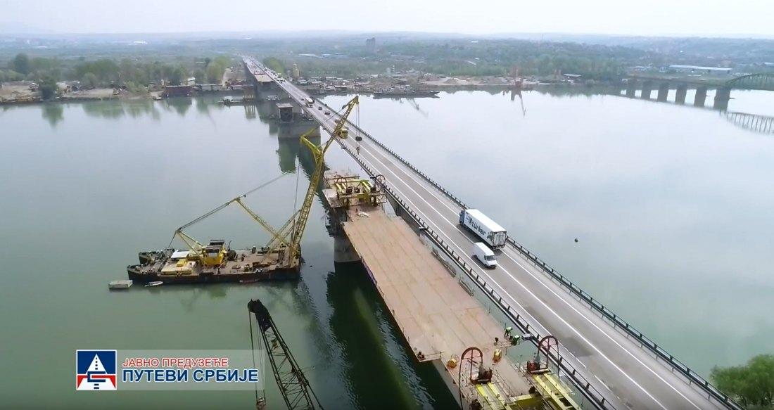 Radnik teško povređen na Ostružničkom mostu