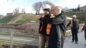 Radojičić obišao radove na rekonstrukciji centralnih gradskih saobraćajnica