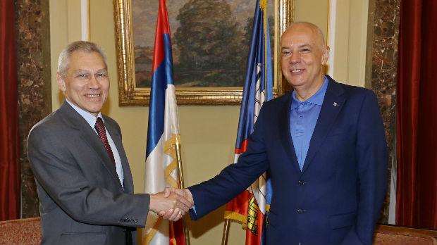 Radojičić ugostio ambasadora Rusije Bocan-Harčenka