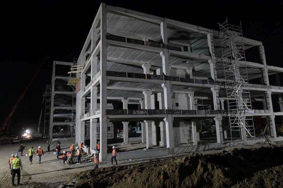 Radovi na kovid-bolnici u Novom Sadu privode se kraju