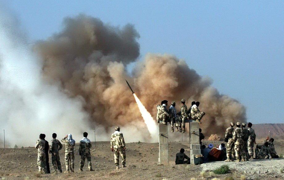 Raketirana američka baza u Iraku