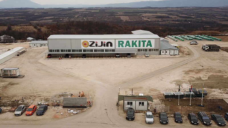 Rakita zapošljava: Posao za više radnika u Pogonu za preradu minerala