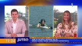 Rashlađivanje uz adrenalin: Pokušaj reporterke TV Prve da skija na vodi VIDEO