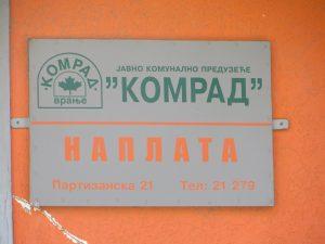 """Raspisan konkurs za direktora JKP """"Komrad"""""""