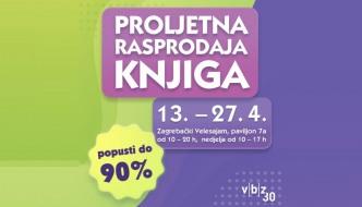 Rasprodaja knjiga na Zagrebačkom velesajmu