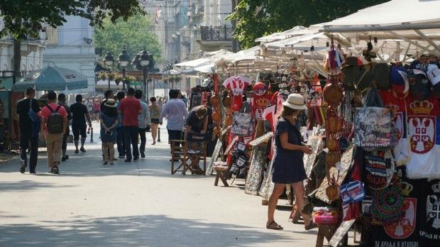 Rast broja stranih turista u Beogradu