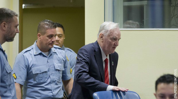 Ratko Mladić vraćen iz bolnice u pritvorsku jedinicu