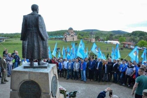 Ravna Gora: NADA obeležila 80 godina od ustanka